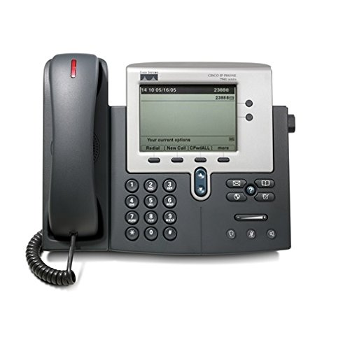 Cisco CP-7941G-GE 7941 Series Unified VOIP IP Phone (Renewed) (Power Supply Not Included)