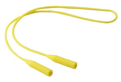 Correa para sujetador de gafas de sol y gafas de sol - Amarillo