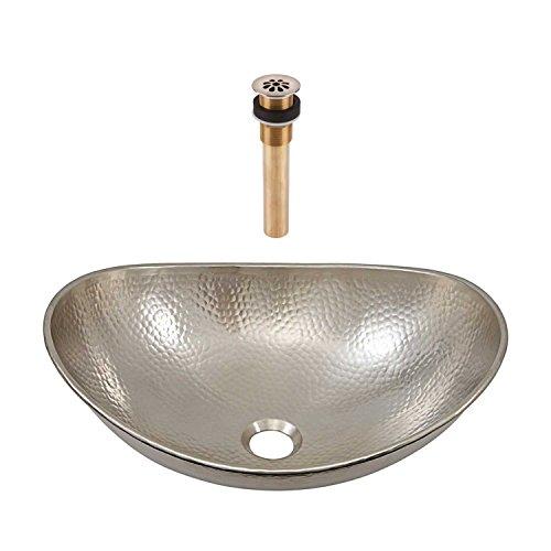 Sinkology SB305-19N-AMZ-TG Hobbes Bath Sink