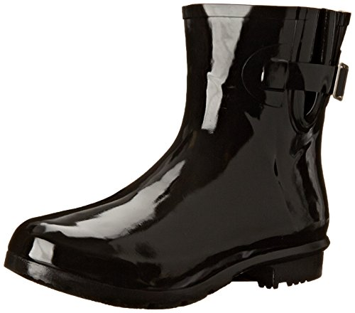 - Nomad Women's Droplet Rain Boot, Black, 8 M US