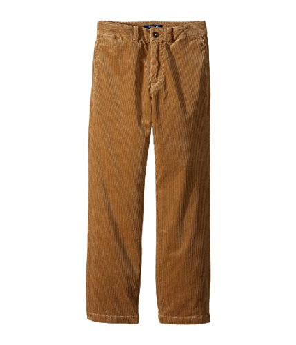 Ralph Lauren Slim Fit Corduroy Pants, Big Boys khaki 18