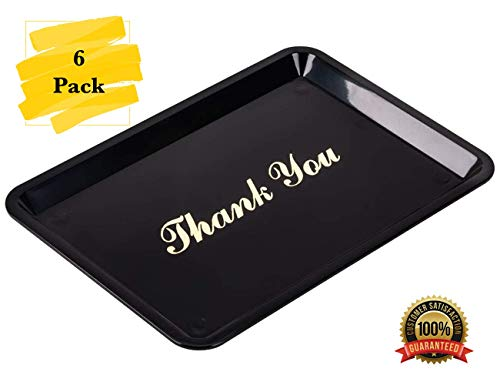 MM Foodservice - 6 Pack - Black with Gold Imprint