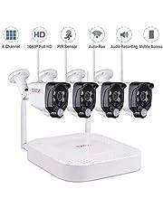 Tonton 1080P Full HD Wireless Überwachungssystem