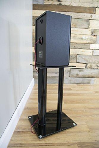 VIVO Premium Universal Floor Speaker Stands Dual Pillar for Surround Sound /&