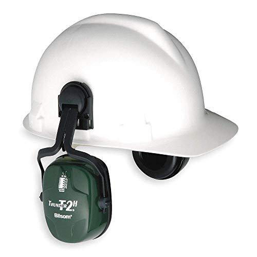 Howard Leight Cap Mounted Thunder Earmuff 25 Decibels Dark - Helmet Earmuffs Mounted