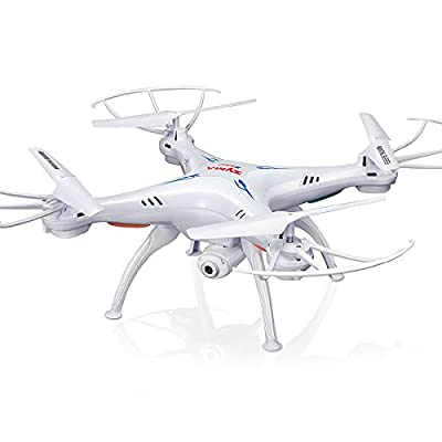 Cheerwing Syma X5SW FPV Explorers2 2.4Ghz 4CH 6-Axis Gyro RC Headless Quadcopter Drone UFO with HD Wifi Camera (White)