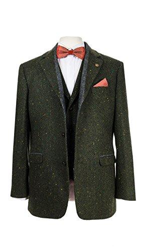 Men's Green Heritage Tweed Sports Jacket - Irish Tweed Jackets