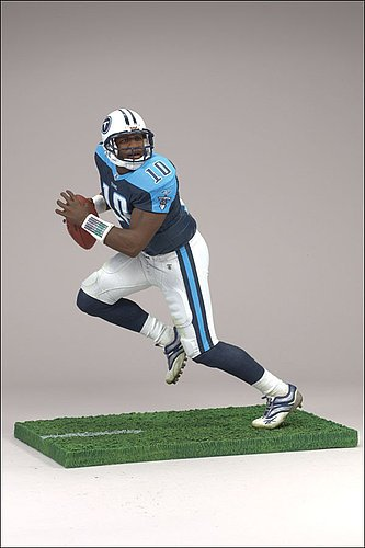 Tennessee Titans Vince Young 6 McFarlane Figurine - Licensed NFL Football Gift