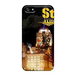 Awesome JAt2149foxA Melissaca Defender Tpu Hard Case Cover For Iphone 5/5s- Pittsburgh Steelers