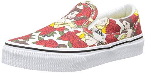 5bf2a5f079 Vans Kids Classic Slip-On (Disney) Belle True White VN-01SQGYV Girls US 2    UK 1.5   EUR 32.5   cm 20  Amazon.ca  Shoes   Handbags
