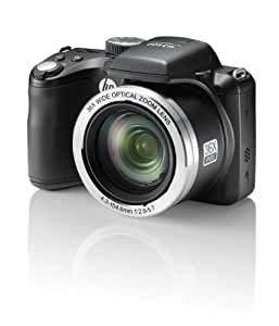 "HP HP D3500 - Cámara compacta de 14.48 Mp (pantalla de 3.0"", zoom óptico 36x) color negro (importado)"