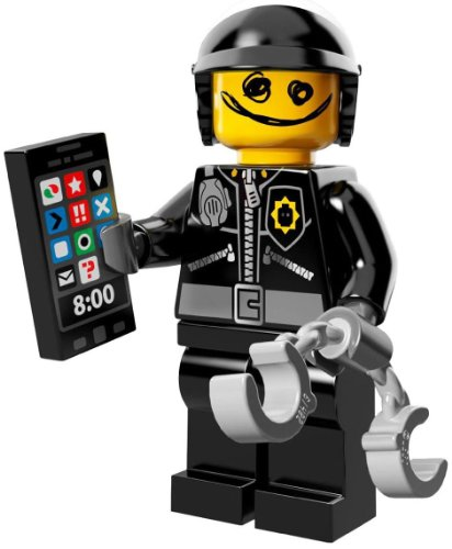 The Lego Movie Bad Cop Good Cop Minifigure Series 71004