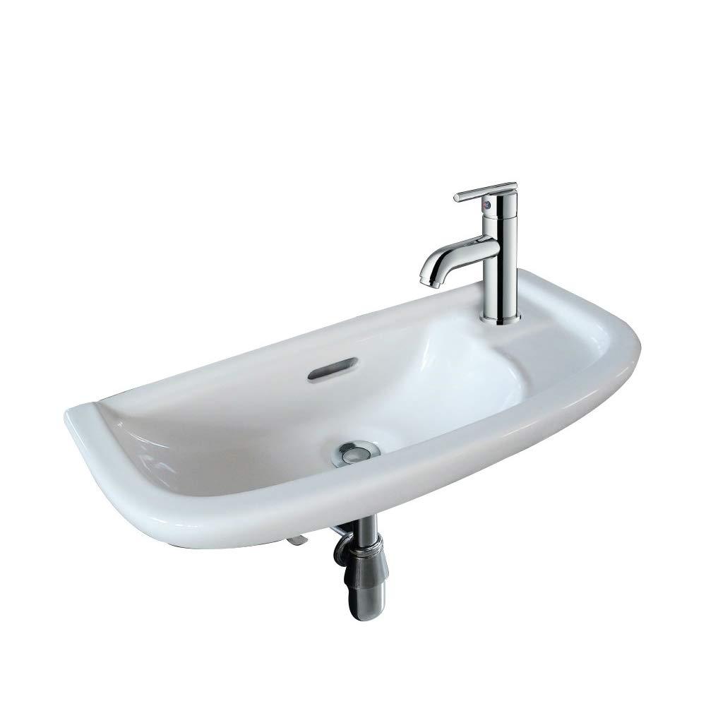 """19"""" Wall Mount Bathroom Sink"""