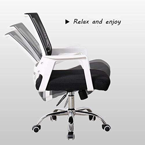DJPP Tabouret de Bar Chaise de Bureau, Chaise Pivotante Flexible, Chaise Ergonomique Pour Hommes Ou Femmes, Chaise Avec Support Dorsal