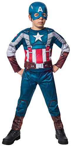 The Winter Soldier Suit Captain America Costume, Child Medium -