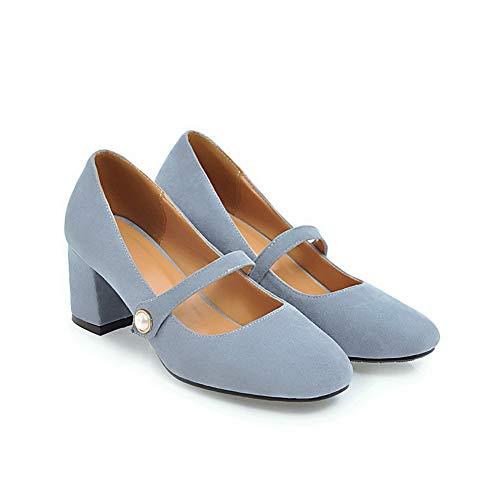 Femme Bleu Bleu Sandales BalaMasa 36 EU Compensées APL10483 5 axFZHHqT