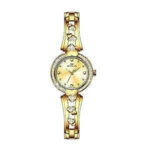 Western Watches Pippa Series Women's Stainless Steel Watch - W3623LGP130J, Gold
