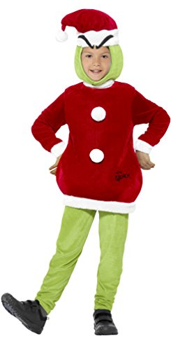 Smiffys Children's The Grinch (A Grinch Costume)
