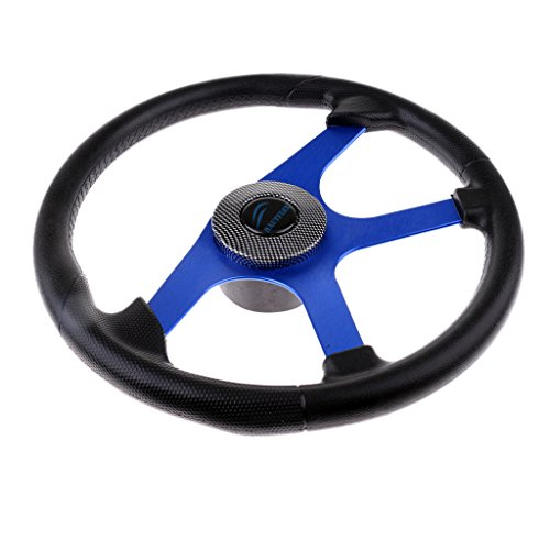 MonkeyJack Universal Boat Steering Wheel 4 Spoke 360mm for sale  Delivered anywhere in USA