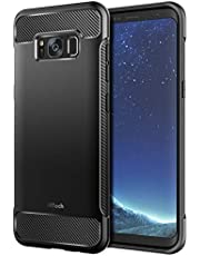 JETech Case for Samsung Galaxy S8, Protective Cover with Shock-Absorption and Carbon Fiber Design
