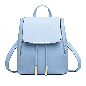 PLOT Leather Backpack Primary Animals Schoolbag School Travel Bags Bookbag for Women
