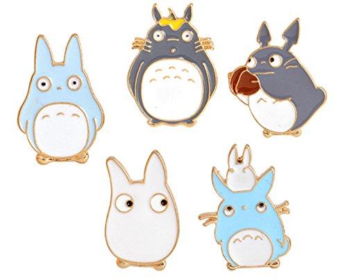 5 Pc Set: My Neighbor Totoro Pins