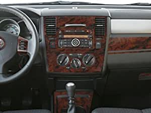 nissan versa interior wood dash trim kit set 2007 2008 2009 2010 2011 automotive. Black Bedroom Furniture Sets. Home Design Ideas