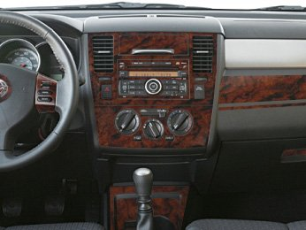 Nissan versa interior wood dash trim kit set 2007 2008 for Inside 2007 online