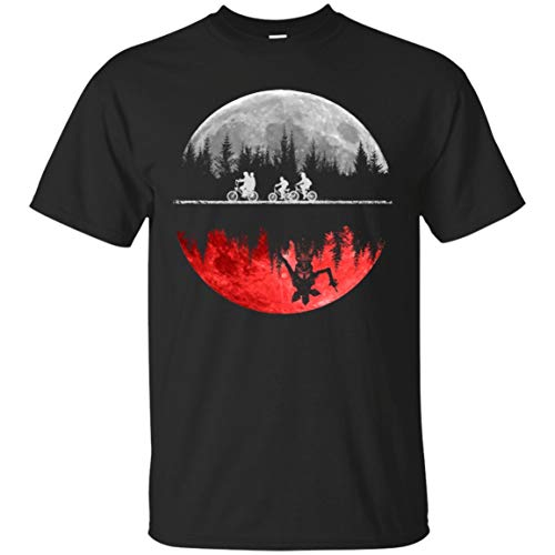 - Trikahan Hawkins The Upside Down 1983 Stranger Things Inspired Youth for Boys/Girls/Kids (YXS-YXL) Tops tee Funny T-Shirt Black