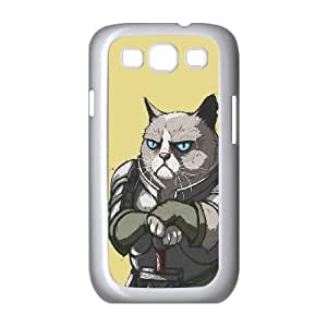 Samsung Galaxy S3 9300 Cell Phone Case White Grumpy Stark SUX_107804