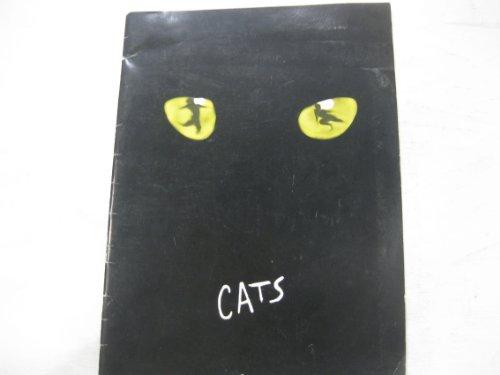 CATS - SOUVENIR PROGRAM - 1982 (Musical Souvenir Program)