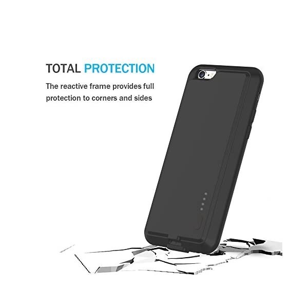 innovative design 5e01c 7121e iPhone 6S Plus/ 6 Plus Battery Case - ZeeHoo Ultra Slim Extended Battery  Case High Capacity 2800 mAh for iPhone 6S Plus / 6 Plus - 5.5 inch  (Build-in ...