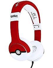 OTL Technlogies Pokemon Pokeball Junior hoofdtelefoon, bekabeld, voor kinderen (officieel licentieproduct)