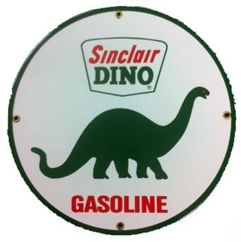 Sinclair Gasoline Porcelain Sign