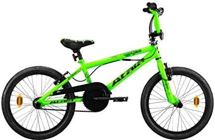 Atala - Bicicleta infantil de BMX, con cristales verdes y neón ...