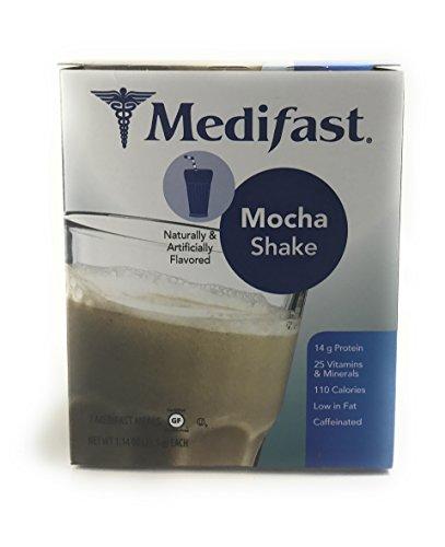 Medifast Mocha Shake  1 Box 7 Servings