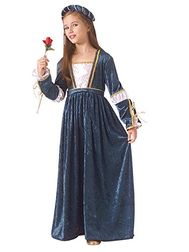 Juliet Halloween Costumes (Child Juliet Renaissance/Princess Costume (Medium))