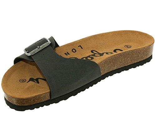 Les Foncé Gris gris pep36932 Pepe Ref Jeans Sandales 0qAZZY
