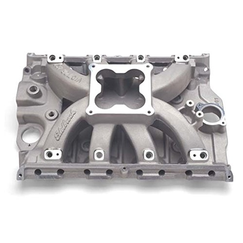 Edelbrock 29375 Victor Series Intake Manifold EFI 4000-8000rpm Non-EGR Ford 429/460 V8FE Sq-BoreCarbs Std. SquareBottomThrottleBodies WillNotFit 427 High-Riser/Tunnel-Port Heads Polished Victor Series Intake Manifold Egr Polished Manifold