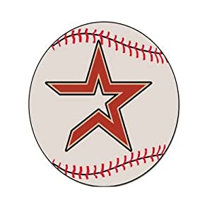 Custom MLB-Houston Astros Mouse Pad Gaming Rectangle Mousepad CM-1096