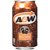 A&W Root Beer, 355 mL cans, Pack of 12 (Packaging may vary)