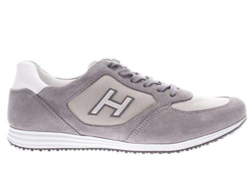 Hogan Uomo Sneaker HXM2050Y810I9L431L Sneaker H Olimpia H Flock grigio