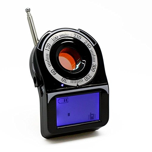 Camera Spy Finder (DD3150 Camera Finder with RF Detector-Locate a Camera Lens from 3 inches- 30ft)