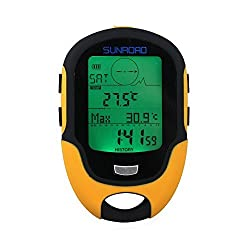 Multifunction LCD Digital Compasses Altimeter Fr500 Outdoor Camping Barometer Thermometer Hygrometer by Sport and Outdoor YingYing
