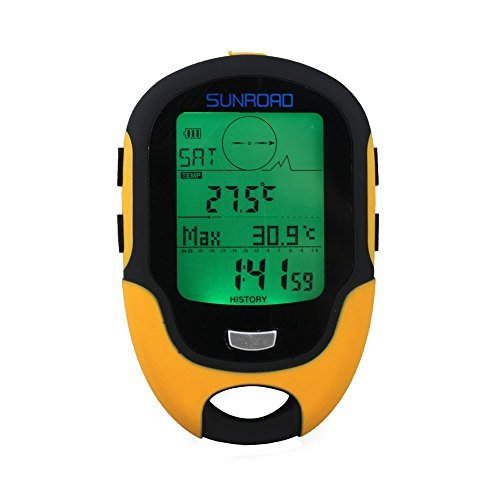 Multifunction LCD Digital Compasses Altimeter Fr500 Outdoor Camping Barometer Thermometer Hygrometer by Sport and Outdoor YingYing by Sport and Outdoor YingYing