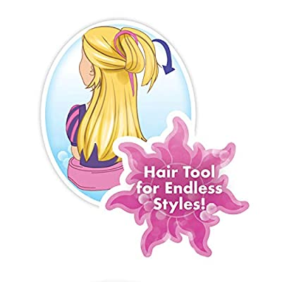 Disney Princess Deluxe Rapunzel Styling Head: Toys & Games