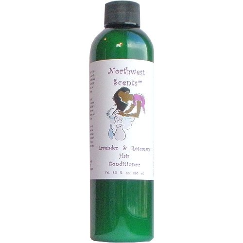 : Northwest Scents Lavender and Rosemary Hair Conditioner for Black, African American, Afro Caribbean, Dry, Coarse, and Highly Textured Hair - 8.5 oz bottle