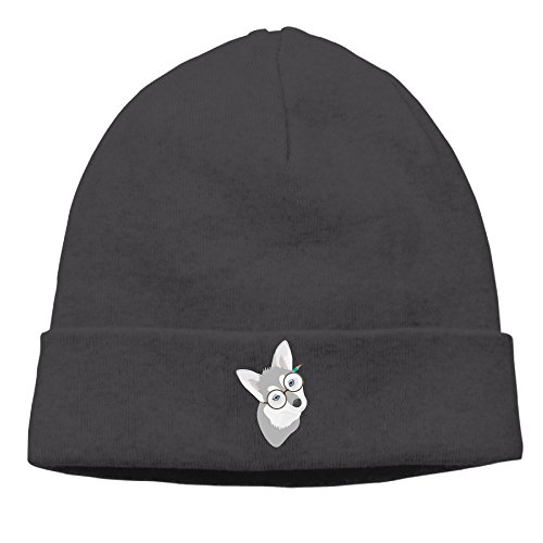 SBPZEB Adult Husky Dog Beanie Skully Cap Hat Watch Hat Ski Cap Hat - Santana San Jose