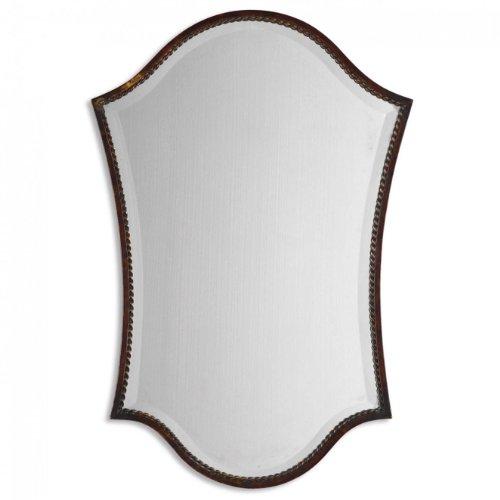 """Uttermost, Bronze Abra Vanity Mirror 1 x 20.125 x 29.75, 29.8"""" L x 20.1"""" W x 1.0"""" D"""