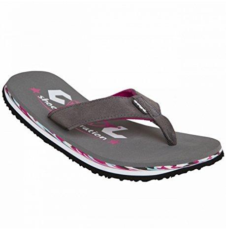 Badelatschen Cool Shoe EVE SLIGHT GIRL steeple gray